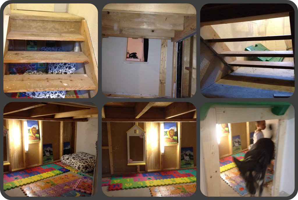 collage of play house