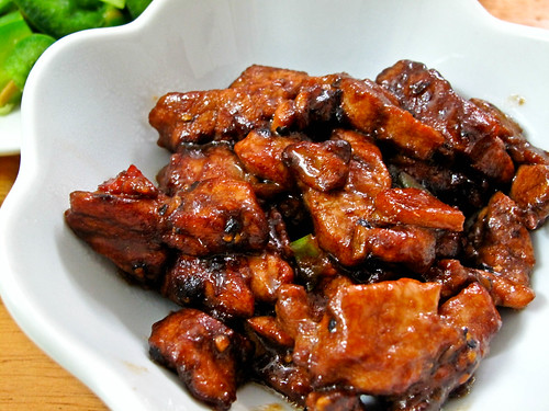 Simple Menu: Stir Fried Black Pepper Pork Slices