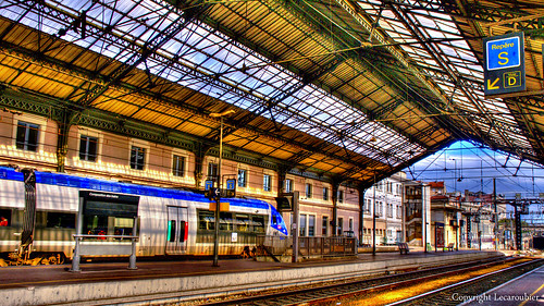 Gare SNCF Valence Ville by Eric lecaroubier