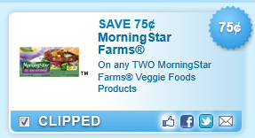 Morningstar Farms Veggie Foods Products Coupon