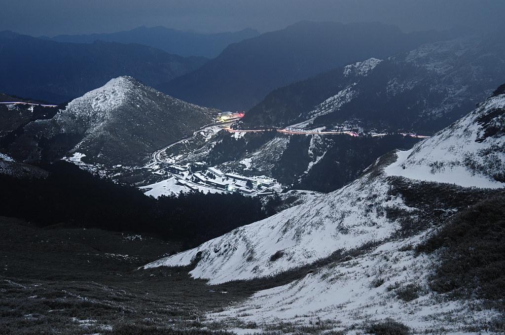 雪訓中心夜景