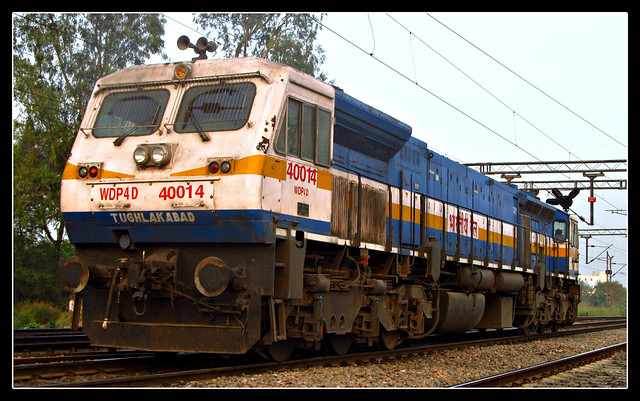India's First Dual Cab EMD Locomotive TKD WDP4D 40014.