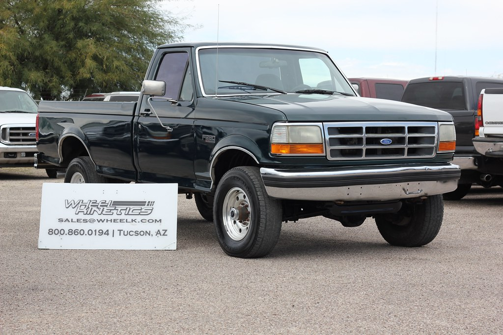 1995 Ford F250 7.3L 4x4 Diesel - Truck For Sale