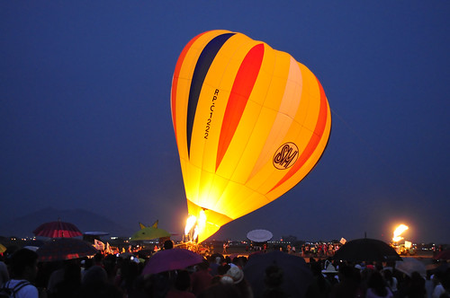 2012 Philippine International Hot Air Balloon Fiesta Night Glow