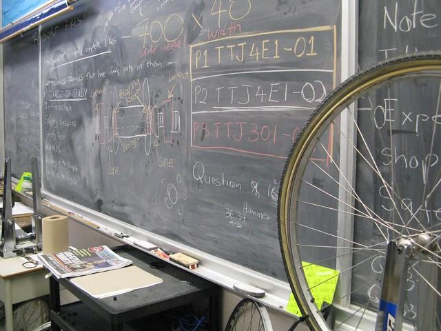 Wed, 02/15/2012 - 14:40 - Lesson plan for bike mechanics class