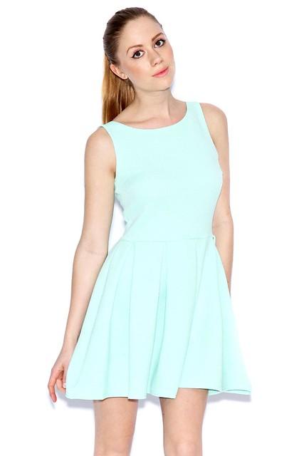 Yasmin Ribbed Skater Dress