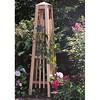 Cedar obelisk