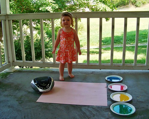 Paint with Dancing Feet Supplies