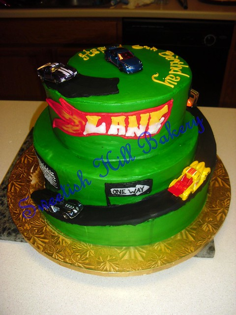 Hot Wheels Birthday Cake Flickr - Photo Sharing!