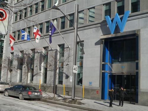 Bienvenue to W Montreal