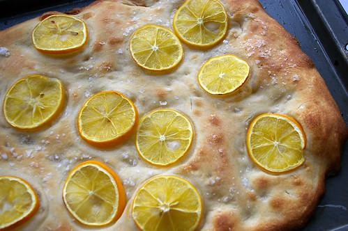 Meyer Lemon Focaccia III