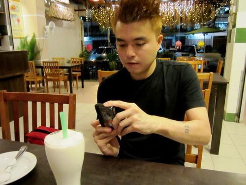 Huai Bin @ Payung Cafe Sibu