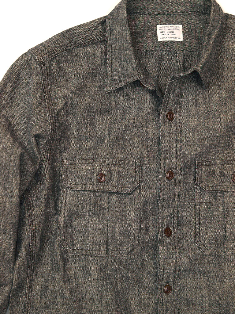 J.Crew / Cotton-Hemp Work Shirt