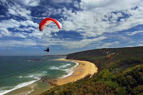Paragliding at Torquay, Victoria, Australia IMG_5448_Torquay