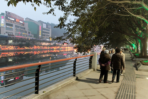 Dusk on the Fuxi River
