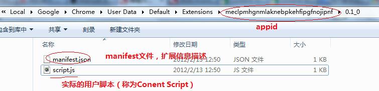 Chrome 的Content Scripts 扩展开发- 团子的小窝