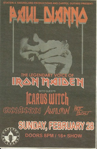 02/28/10 Paul Dianno/Icarus Witch/Cwn Annwn/Avalon/Hate Beast @ Station 4, St. Paul, MN0001