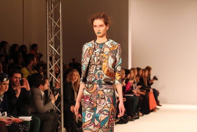 leutton postle AW12 london fashion week
