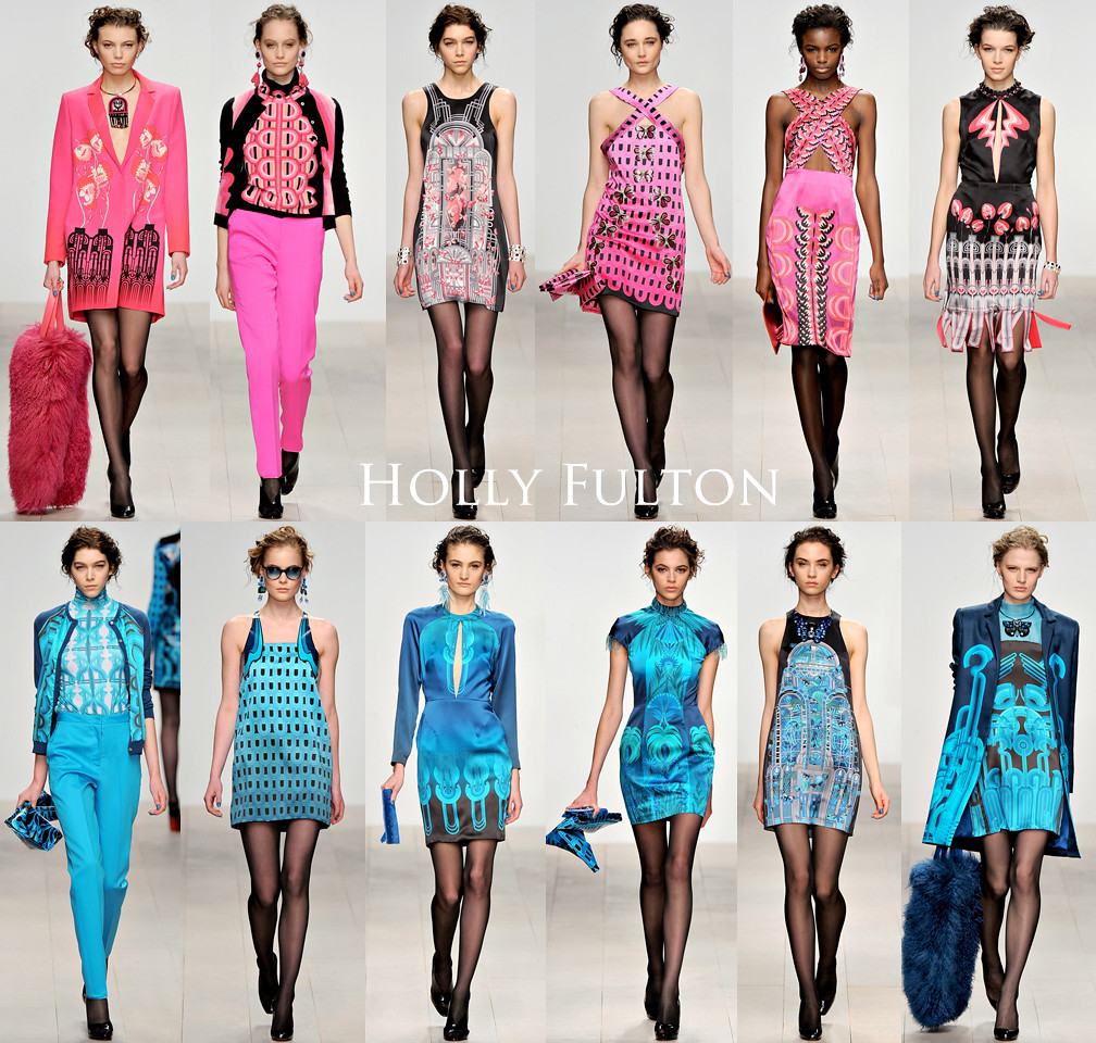 Holly Fulton LFW