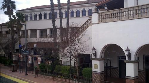 Santa Ana train station