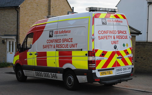 ESS Safeforce / Mercedes Sprinter / Confined Space Safety & Rescue Unit / KP61 TXL