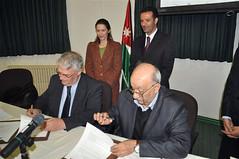 Signature d'un accord entre l'Ifpo et la direction des Antiquités de Jordanie