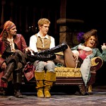 Steve Kazee, Anderson Davis, and Cady Huffman in  PIRATES! (or, GILBERT AND SULLIVAN PLUNDER'D), photo: T. Charles Erickson