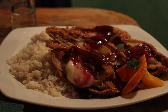 Comida húngara en el Placc