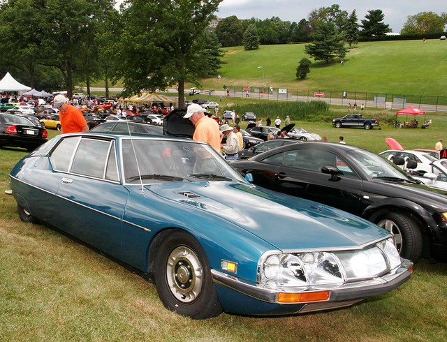 European Car Show at Schenley Park