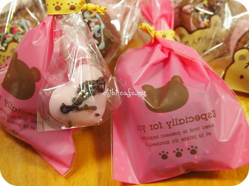 バレンタイン チョコ&ドーナツ