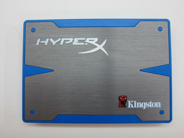 Kingston HyperX SSD - 120GB Front View