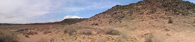 Petroglyph national monument panorama
