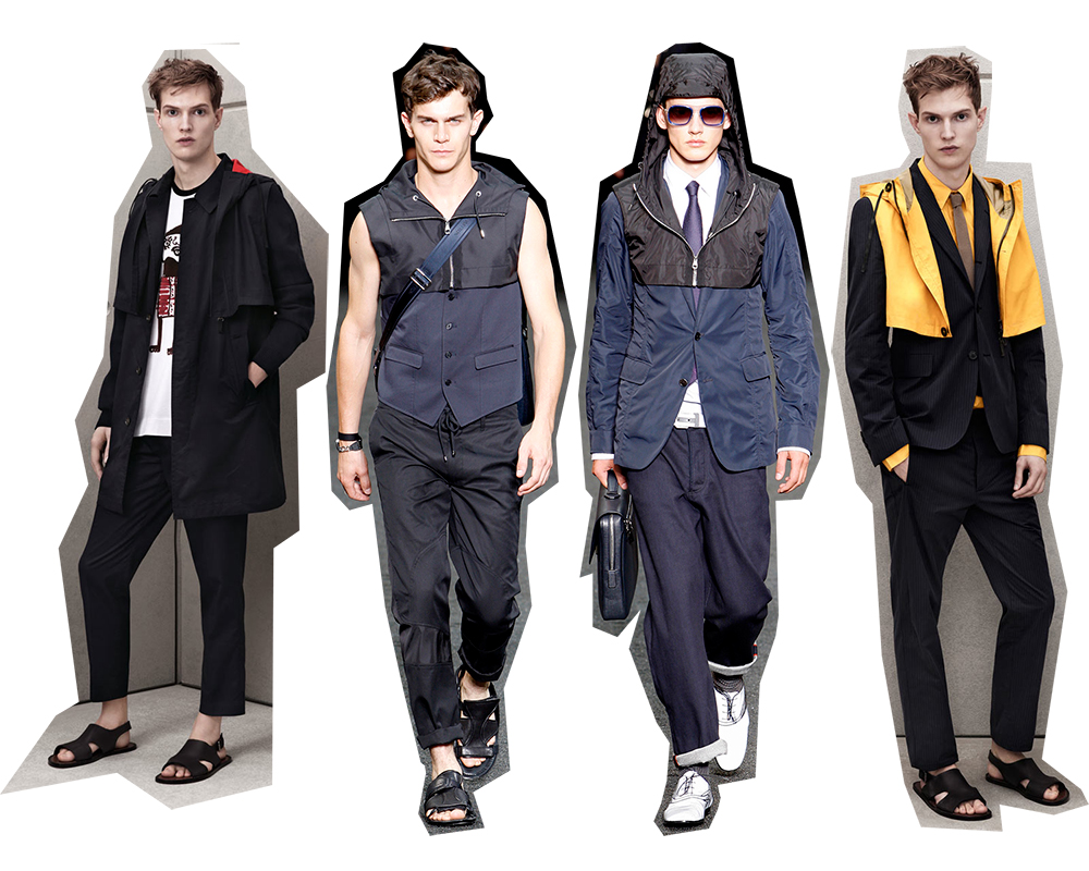 Cropped Hooded Vest - Marni At H&M Vs Louis Vuitton Menswear SS 2010