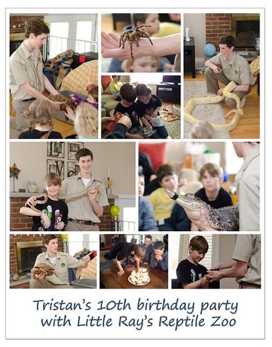 Tristan's party