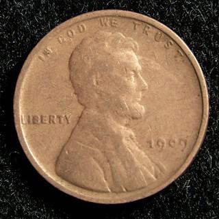 1909 VBD Lincoln Penny