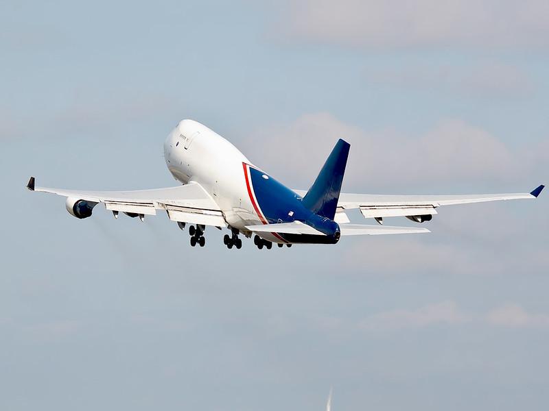 World Airways Cargo - Polderbaan Schiphol