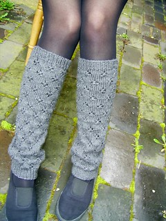 basic legwarmer - knitting pattern