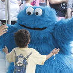 KLRU 50th Birthday Party 2012 185 Cookie Monster!