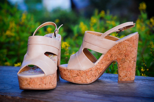 Maricon Wedge chunky Heels
