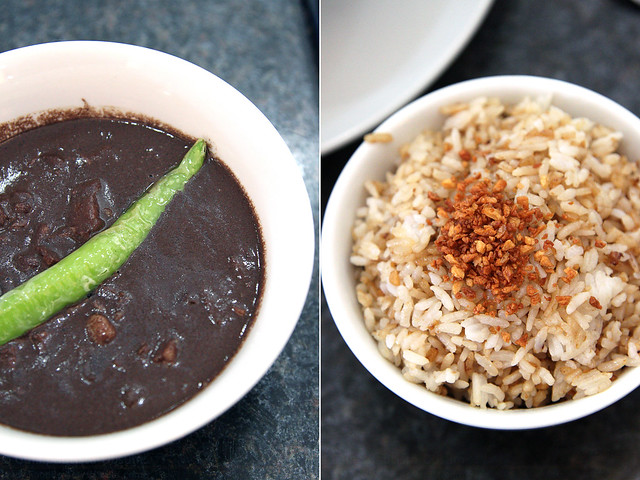 Recipes Dinuguan and Garlic Rice