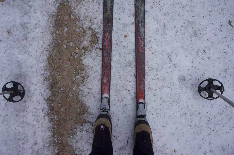 Splendid skiing conditions