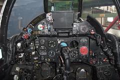 Hawker Hunter J-4062 Cockpit