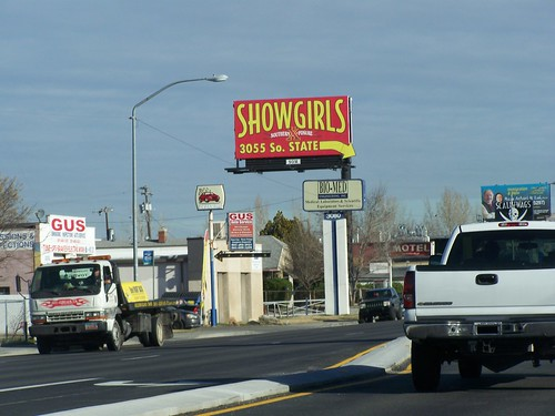 Showgirls billboard, Salt Lake City