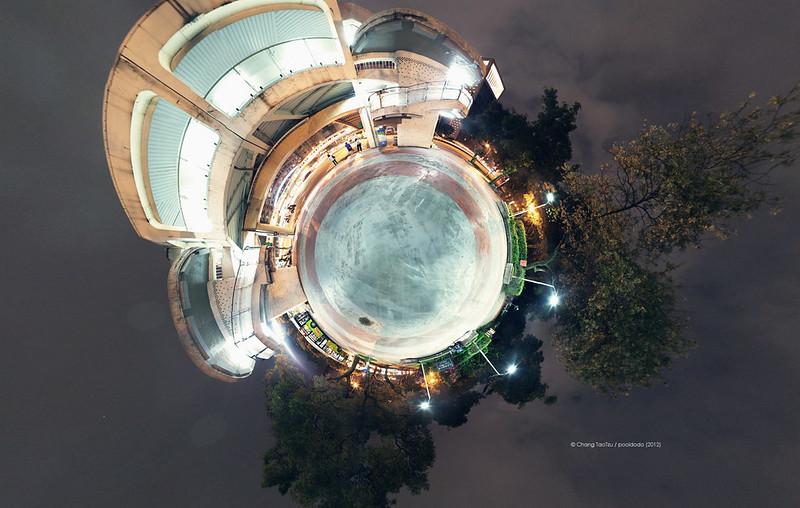 [panorama] city galaxy