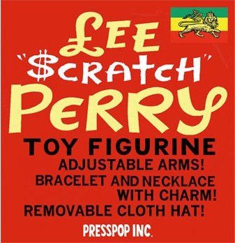 Lee Scratch Perry figure