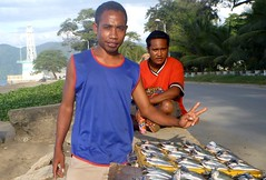 Fish for sale in Dili