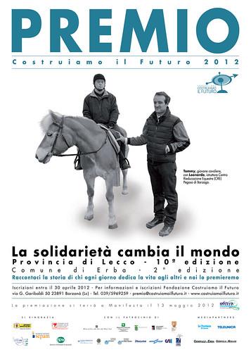 Locandina Premio 2012