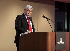 Former Foreign Minister and Vice Chancellor of Germany Joschka Fischer launches the 'Reinventing Diplomacy' initiative on March 22 with his talk 'The Future of Europe.'
