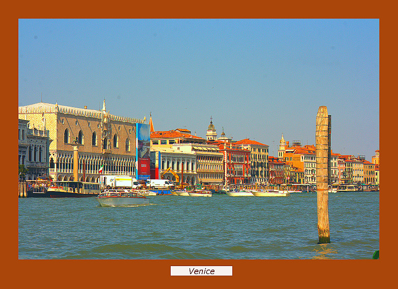 Venice Framed
