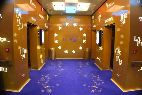 Europa elevators - Disney Fantasy